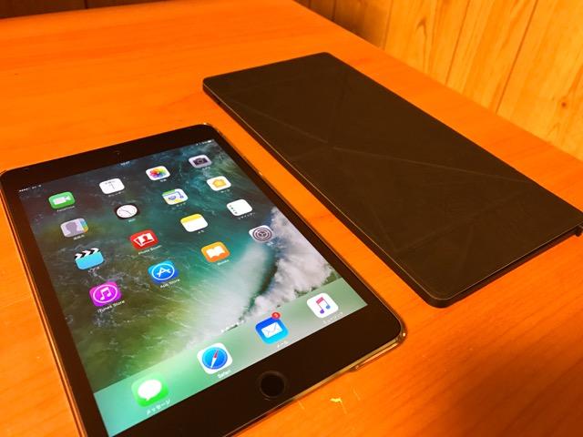 iPad mini 4のキーボード TK-FBP073IBK 本体