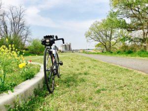 ロードバイク 矢田川サイクリングロード