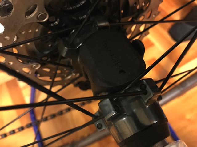 GARMIN(ガーミン)EDGE 820J スピードセンサー