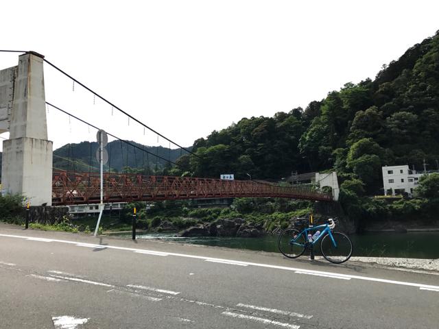 TOJ美濃ステージと中濃周遊ライド つり橋