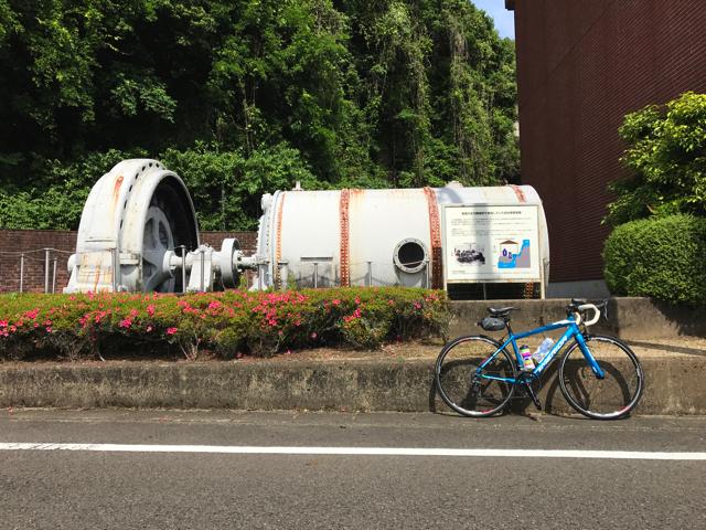 TOJ美濃ステージと中濃周遊ライド 長良川水力発電所