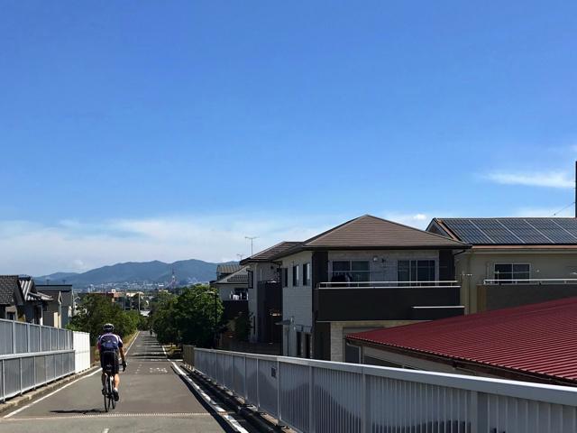 愛知県をロードバイクで走ろう。志段味サイクリングロード