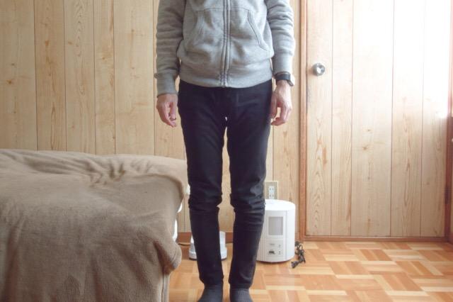ユニクロの「EZYスキニーフィットカラージーンズ」を購入。履き心地