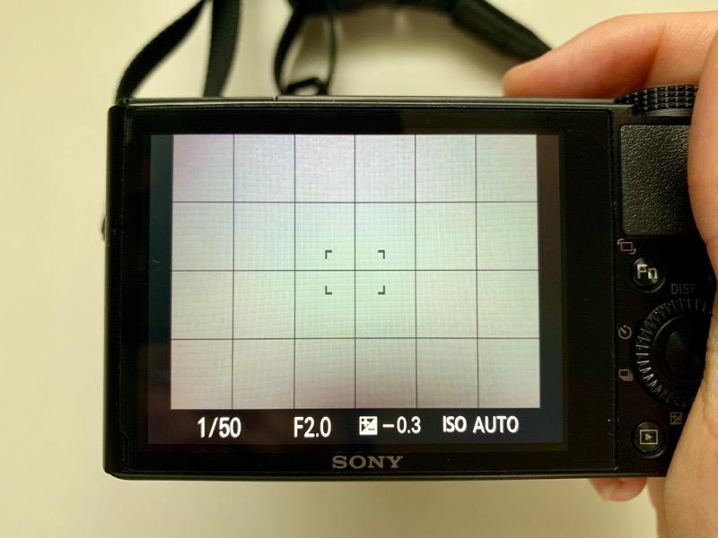 SONY(ソニー)のRX100(DSC-RX100)について。液晶保護フィルム