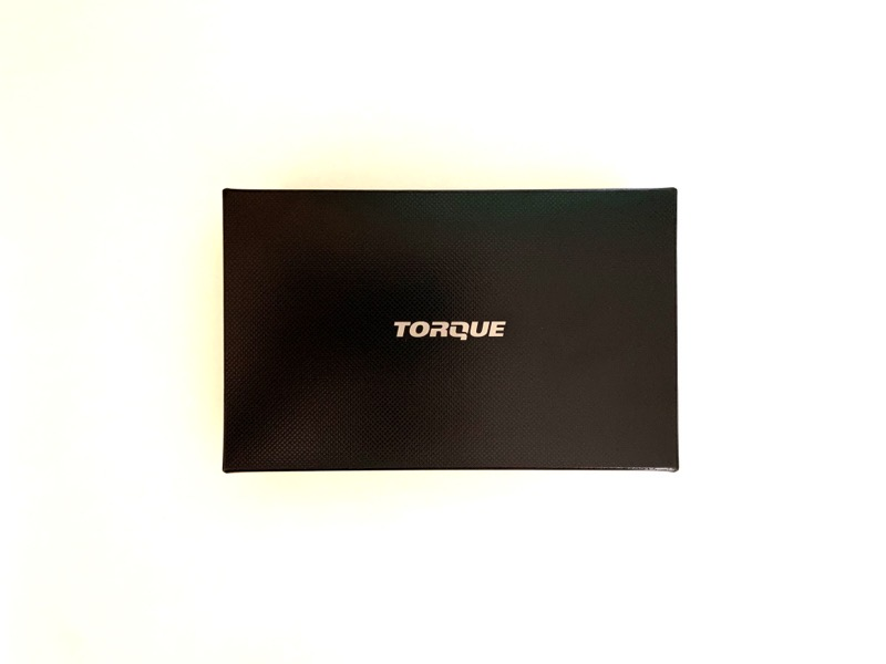 TORQUE(トルク)G04の開封とフィルムそして分解。箱