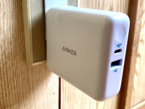 Anker(アンカー)のPowerCore III Fusion 5000を購入。バッテリー充電時間